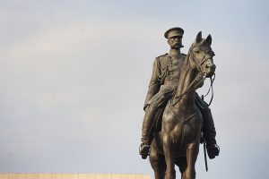 The monument of Tsar Osvoboditel - Паметник на Цар Освободител