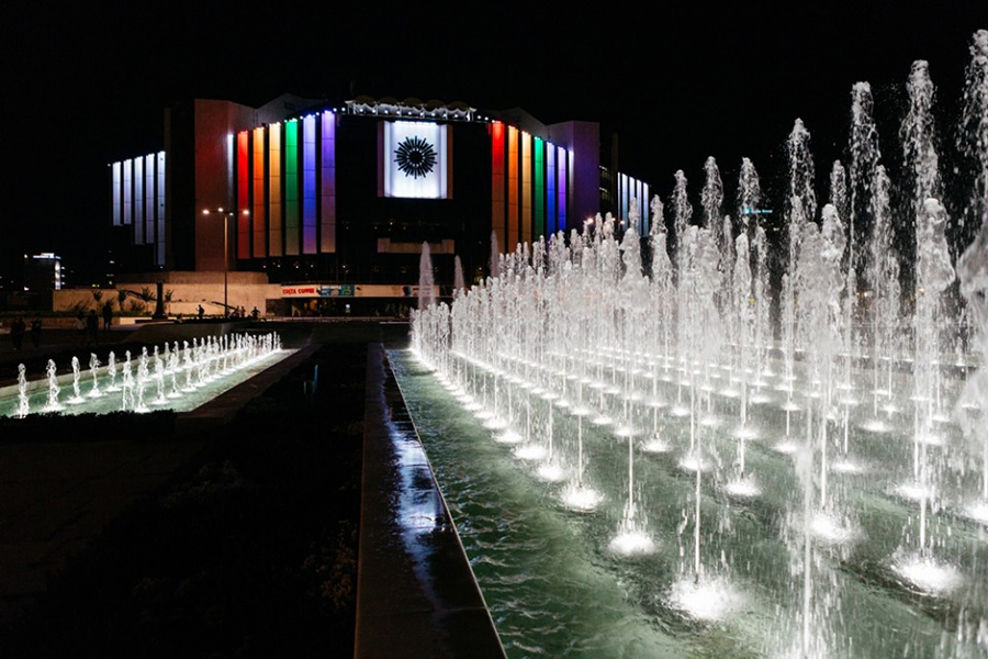 National palace of culture – Sofia - Национален дворец на културата